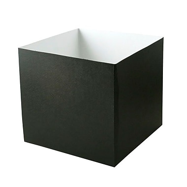 Shamrock 10in. x 10in. x 9in. Swirls Hi Wall Box, Black
