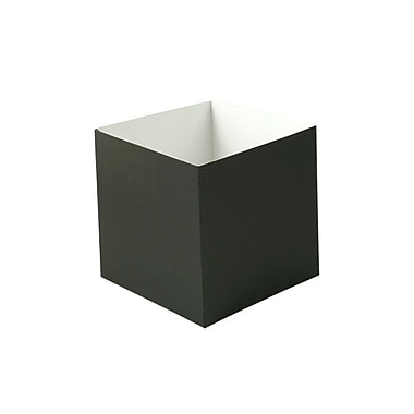 Shamrock 6in. x 6in. x 6in. Swirls Hi Wall Box, Black
