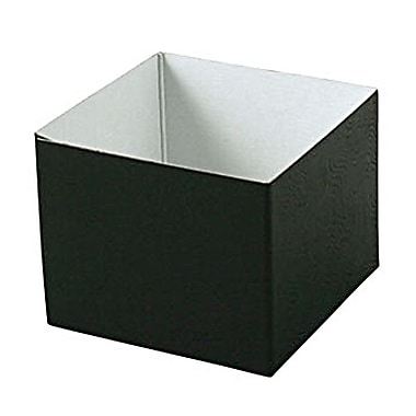 Shamrock 4in. x 4in. x 3in. Swirls Hi Wall Box, Black
