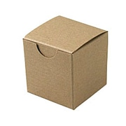 Shamrock Board 2H x 2W x 2L Gift Boxes, Brown, 200/Carton