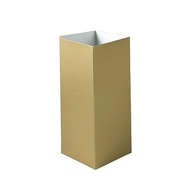 Shamrock 4in. x 4in. x 9in. Hi Wall Box, Gold