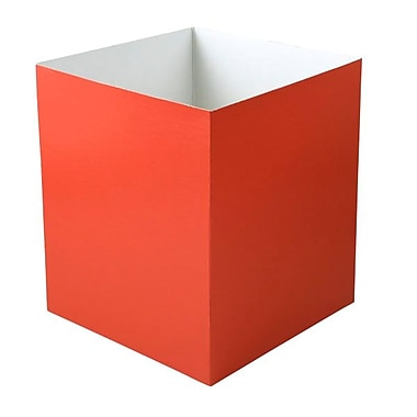 Shamrock 8in. x 8in. x 9in. Hi Wall Box, Red