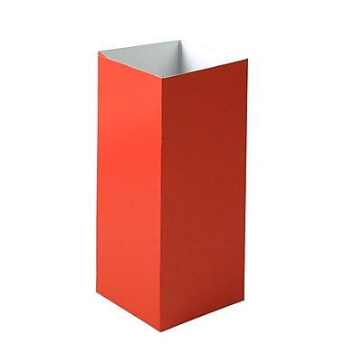 Shamrock 4in. x 4in. x 9in. Hi Wall Box, Red