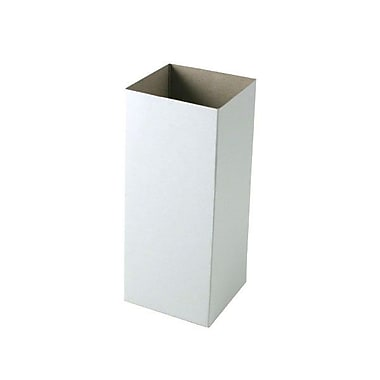 Shamrock 4in. x 4in. x 9in. Hi Wall Box, White