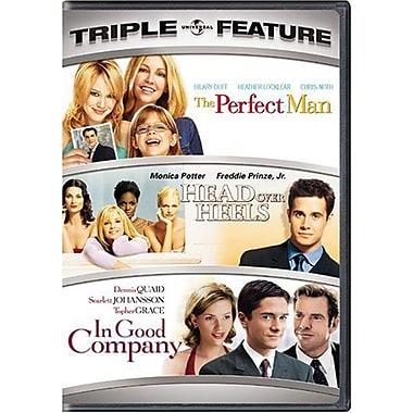 Perfect Man, Head Over Heels, Good Company (DVD)