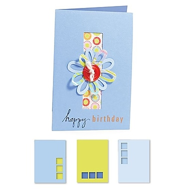 Sizzix® Movers & Shapers XL Die Set, Card/Vertical Note & Three Window Panes (Kit #2)