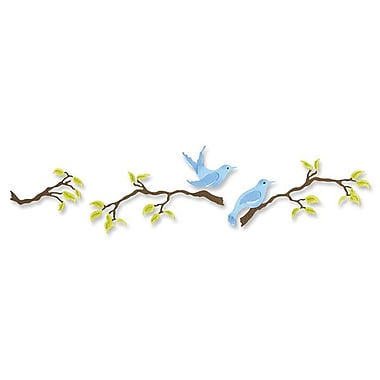 Sizzix® Sizzlits Decorative Strip Die, Birds & Branches