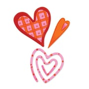 Sizzix® Originals Die, Primitive #2 Hearts