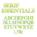 Sizzix® Bigz Alphabet Set 7 Die, Serif Essentials