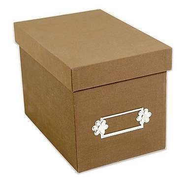 Sizzix® Large Storage Box, Tan