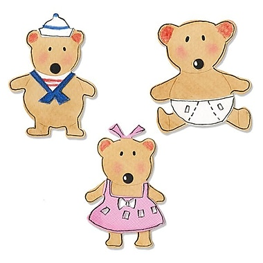 Sizzix® Sizzlits Die Set, Baby Bears Set