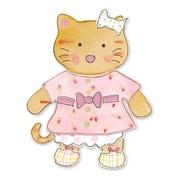 Sizzix® Bigz Die, Animal Dress Ups Kitty
