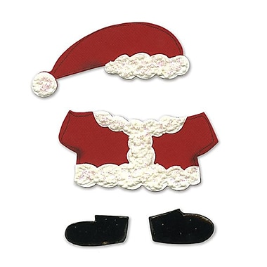 Sizzix® Bigz Die, Animal Dress Ups Santa Outfit