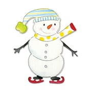 Sizzix® Bigz Die, Snowman w/Skates