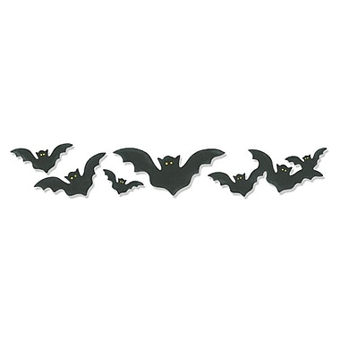 Sizzix® Sizzlits Decorative Strip Die, Bats