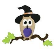 Sizzix® Bigz Die, Owl w/Witch Hat