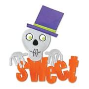 Sizzix® Bigz Die, Sweet Phrase w/Skull & Top Hat