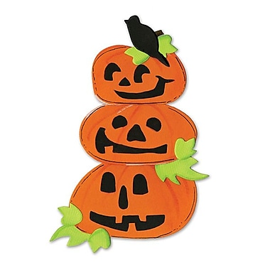 Sizzix® Bigz Die, Pumpkins w/Crow & Leaves