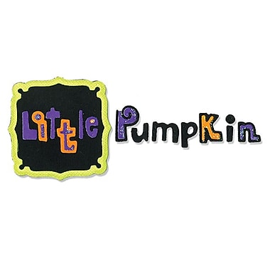 Sizzix® Sizzlits Die Set, Frame & Phrase, Little Pumpkin Set