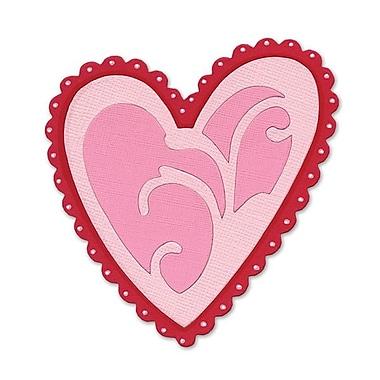 Sizzix® Originals Die, Ornamental Heart