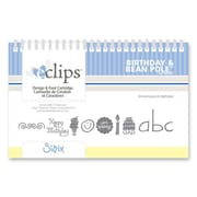 Sizzix® eclips Cartridge, Birthday & Bean Pole Alphabet