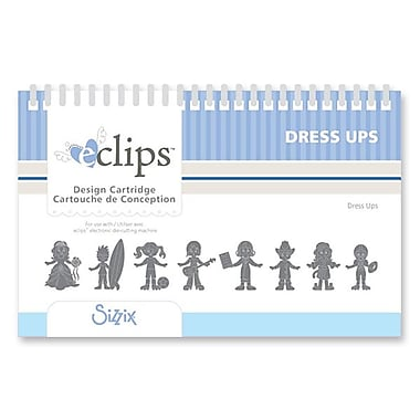 Sizzix® eclips Cartridge, Dress Ups