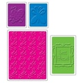 Sizzix® Textured Impressions Embossing Folder, Best Friends Set