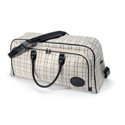 Sizzix® eclips Carry All Tote, Black/Cream and Periwinkle Plaid