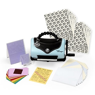 Sizzix® Embossing Machine Bonus Kit, Texture Boutique