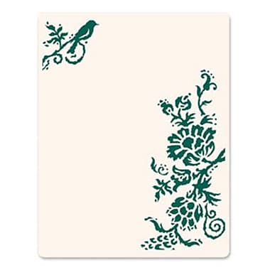 Sizzix® Ink-its Letterpress Plate, Rustic Elegant Flowers