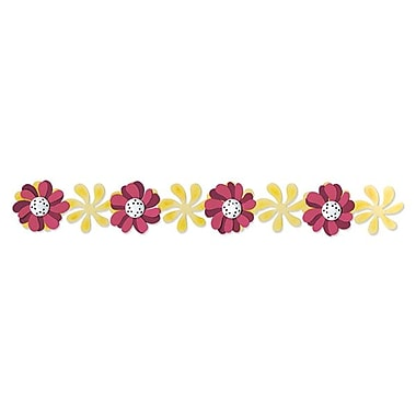 Sizzix® Sizzlits Decorative Strip Die, Windmill Daisies