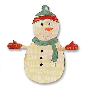 Sizzix® Sizzlits Die, Snowman #7