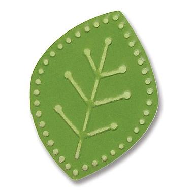 Sizzix® Embosslits Die, Leaf