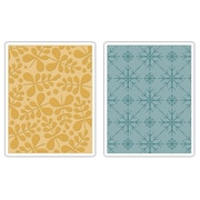 Sizzix® Textured Impressions Embossing Folder, Branches & Snowflakes Set