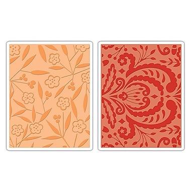 Sizzix® Textured Impressions Embossing Folder, Thickets & Swirls Set