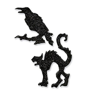 Sizzix® Movers & Shapers Magnetic Die Set, Mini Cat & Raven Set
