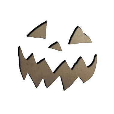 Sizzix® Movers & Shapers Magnetic Die Set, Mini Scary Jack-o-Lantern Set