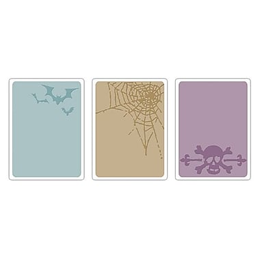 Sizzix® Texture Fades Embossing Folder, Spooky Things Set