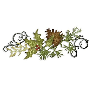 Sizzix® Sizzlits Decorative Strip Die, Festive Greenery