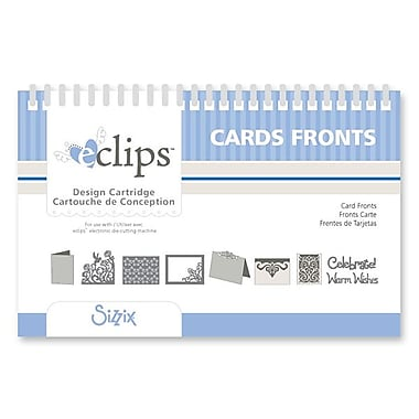Sizzix® eclips Cartridge, Card Fronts