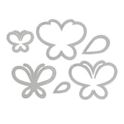 Sizzix® Framelits Die Set With Stamps, Butterflies