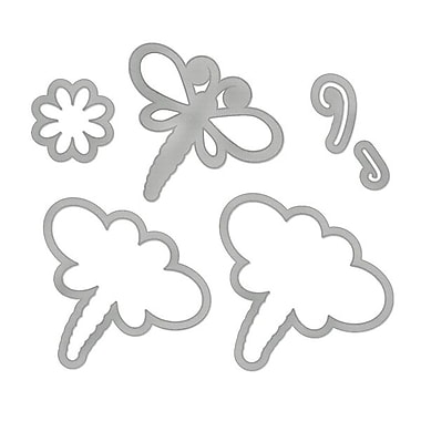 Sizzix® Framelits Die Set With Stamps, Dragonflies