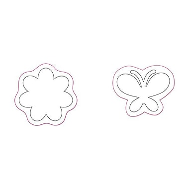 Sizzix® Movers & Shapers Magnetic Die Set, Flower & Butterfly Set