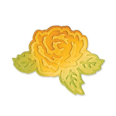 Sizzix® Embosslits Die, Flower With Leaves