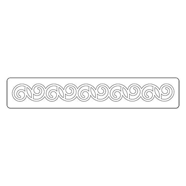 Sizzix® Sizzlits Decorative Strip Die, Curly #2