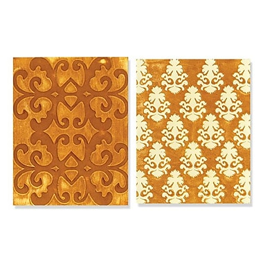 Sizzix® Textured Impressions Embossing Folder, Luxurious Set