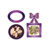 Sizzix® XL Embosslits Die, Labels and Bow