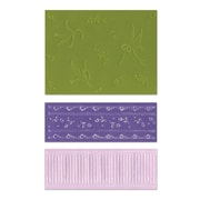 Sizzix® Textured Impressions Embossing Folder, Birds and Lace Set