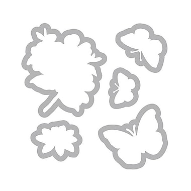 Sizzix® Framelits Die Set With Stamps, Butterflies #3
