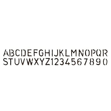 Sizzix® Sizzlits Decorative Strip Alphabet Die, Stenciled